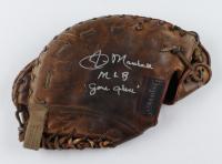 "Jim Marshall Signed Game-Used Spalding Baseball Glove Inscribed ""MLB Game Glove"" (Marshall LOA) at PristineAuction.com"