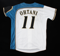 Shohei Ohtani Fighters Retail Jersey Gifted to Jim Marshall (Marshall LOA) at PristineAuction.com