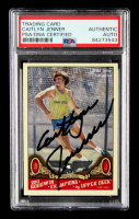 Caitlyn Jenner Signed 2011 Upper Deck Goodwin Champions #92 (PSA Encapsulated) at PristineAuction.com