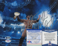"""Dave Bautista Signed WWE 8x10 Photo Inscribed """"Best Wishes"""" (Beckett COA) at PristineAuction.com"""