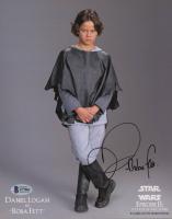 "Daniel Logan Signed ""Star Wars: Episode II – Attack of the Clones"" 8x10 Photo (Beckett COA) at PristineAuction.com"