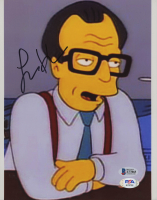 """Larry King Signed """"The Simpsons"""" 8x10 Photo (Beckett COA) at PristineAuction.com"""
