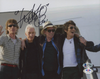 Charlie Watts Signed 8x10 Photo with Inscription (Beckett COA) at PristineAuction.com