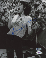 Patti Smith Signed 8x10 Photo (Beckett COA) at PristineAuction.com