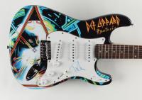 "Phil Collen Signed Custom Def Leppard ""Hysteria"" 39"" Electric Guitar (JSA COA & AutographCOA COA) at PristineAuction.com"