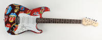 """Ronnie Wood Signed Custom Rolling Stones 39"""" Electric Guitar (JSA COA) at PristineAuction.com"""