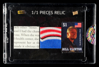 Bill Clinton 2017-18 The Bar Pieces of the Past Volume 1 #PRBC1 at PristineAuction.com