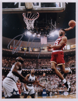 Robert Horry Signed Rockets 11x14 Photo (PSA COA) at PristineAuction.com