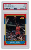 Michael Jordan 1986-87 Fleer #57 RC (PSA 9) at PristineAuction.com
