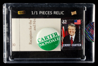 Jimmy Carter 2019 The Bar Pieces of the Past #PRJC1 #1/1 at PristineAuction.com