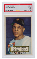 Willie Mays 1952 Topps #261 (PSA 5.5) at PristineAuction.com