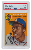 Hank Aaron 1954 Topps #128 RC (PSA 5.5) at PristineAuction.com