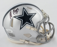 Amari Cooper Signed Cowboys Speed Mini Helmet (JSA COA) at PristineAuction.com