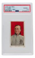 Ty Cobb 1909-11 T206 #98 Portrait Red (PSA 2.5) at PristineAuction.com