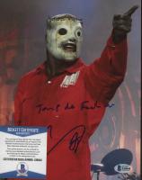 "Corey Taylor Signed ""Slipknot"" 8x10 Photo Inscribed ""Jump Da F*** Up"" (Beckett COA) at PristineAuction.com"