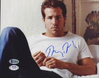 Ryan Reynolds Signed 8x10 Photo (Beckett COA) at PristineAuction.com