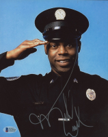 """Michael Winslow Signed """"Police Academy"""" 8x10 Photo (Beckett COA) at PristineAuction.com"""