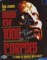 "Bill Moseley & Walter Phelan Signed ""House of 1000 Corpses"" 8x10 Photo Inscribed ""Otis"" & ""Dr. Satan"" (Beckett COA) at PristineAuction.com"