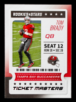 Tom Brady 2020 Rookies and Stars Ticket Masters #3 at PristineAuction.com