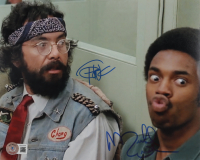 """Tommy Chong & Michael Winslow Signed """"Cheech & Chong's Next Movie"""" 8x10 Photo (Beckett Hologram) (See Description) at PristineAuction.com"""
