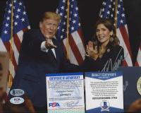 "Kristi Noem Signed 8x10 Photo Inscribed ""2020"" (Beckett COA) at PristineAuction.com"