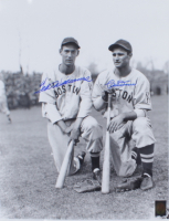 Ted Williams & Bobby Doerr Signed Red Sox 16x20 Photo (UDA COA) at PristineAuction.com
