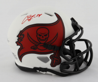 Chris Godwin Signed Buccaneers Lunar Eclipse Alternate Speed Mini Helmet (Beckett COA) at PristineAuction.com