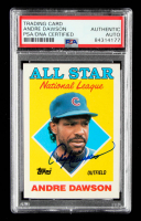 Andre Dawson Signed 1988 Topps #401 AS (PSA Encapsulated) at PristineAuction.com