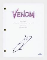 "Tom Hardy Signed ""Venom"" Movie Script (AutographCOA COA) at PristineAuction.com"