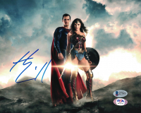 """Henry Cavill Signed """"Justice League"""" 8x10 Photo (Beckett COA) at PristineAuction.com"""