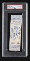 Jerry West Signed 1974 Game Ticket (PSA Encapsulated) at PristineAuction.com
