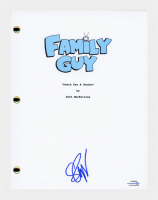 "Seth Green Signed ""Family Guy"" Pilot Episode Script (AutographCOA COA) at PristineAuction.com"