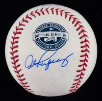 Alex Rodriguez Signed 2009 New Yankee Stadium Inaugural Logo OML Baseball (Beckett Hologram) (See Description) at PristineAuction.com
