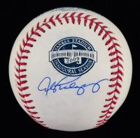 Alex Rodriguez Signed 2009 New Yankee Stadium Inaugural Logo OML Baseball (Beckett COA) (See Description) at PristineAuction.com