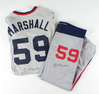 Jim Marshall Signed Game-Worn White Sox Uniform with Jersey & Pants (Marshall LOA) at PristineAuction.com