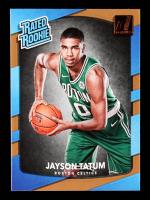 2017-18 Donruss #198 Jayson Tatum RR RC at PristineAuction.com