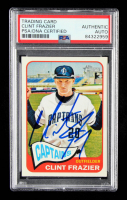 Clint Frazier Signed 2014 Topps Heritage Minors #90 (PSA Encapsulated) at PristineAuction.com