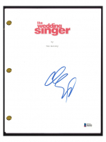 "Adam Sandler Signed ""The Wedding Singer"" Movie Script (Beckett COA) at PristineAuction.com"