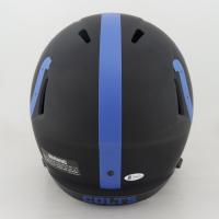 Darius Leonard Signed Colts Full-Size Eclipse Alternate Speed Helmet (Beckett COA) (See Description) at PristineAuction.com