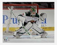 "Kaapo Kahkonen Signed LE Wild 16x20 Photo Inscribed ""NHL Debut 11/26/19"" (Fanatics Hologram) at PristineAuction.com"