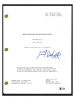 """Daniel Radcliffe Signed """"Harry Potter & The Half-Blood Prince"""" Movie Script (Beckett COA) at PristineAuction.com"""