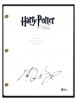 """Daniel Radcliffe Signed """"Harry Potter & The Goblet of Fire"""" Movie Script (Beckett COA) at PristineAuction.com"""