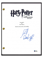 """Daniel Radcliffe Signed """"Harry Potter & The Philosopher's Stone"""" Movie Script (Beckett COA) at PristineAuction.com"""