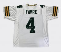 "Brett Favre Signed LE Jersey Inscribed ""#4 Retired 7/18/15"" (Radtke COA) at PristineAuction.com"
