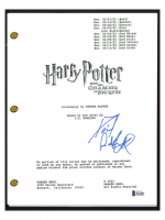 """Daniel Radcliffe Signed """"Harry Potter & The Chamber of Secrets"""" Movie Script (Beckett COA) at PristineAuction.com"""