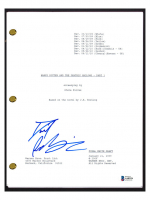"""Daniel Radcliffe Signed """"Harry Potter & The Deathly Hallows Part 1"""" Movie Script (Beckett COA) at PristineAuction.com"""