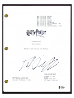 """Daniel Radcliffe Signed """"Harry Potter and the Deathly Hallows Part 2"""" Movie Script (Beckett COA) at PristineAuction.com"""