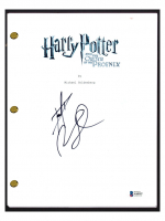 """Daniel Radcliffe Signed """"Harry Potter & The Order of the Phoenix"""" Movie Script (Beckett COA) at PristineAuction.com"""