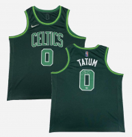 Jayson Tatum Signed Celtics Jersey (Fanatics Hologram) at PristineAuction.com