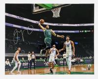 Jayson Tatum Signed Celtics 16x20 Photo (Fanatics Hologram) at PristineAuction.com